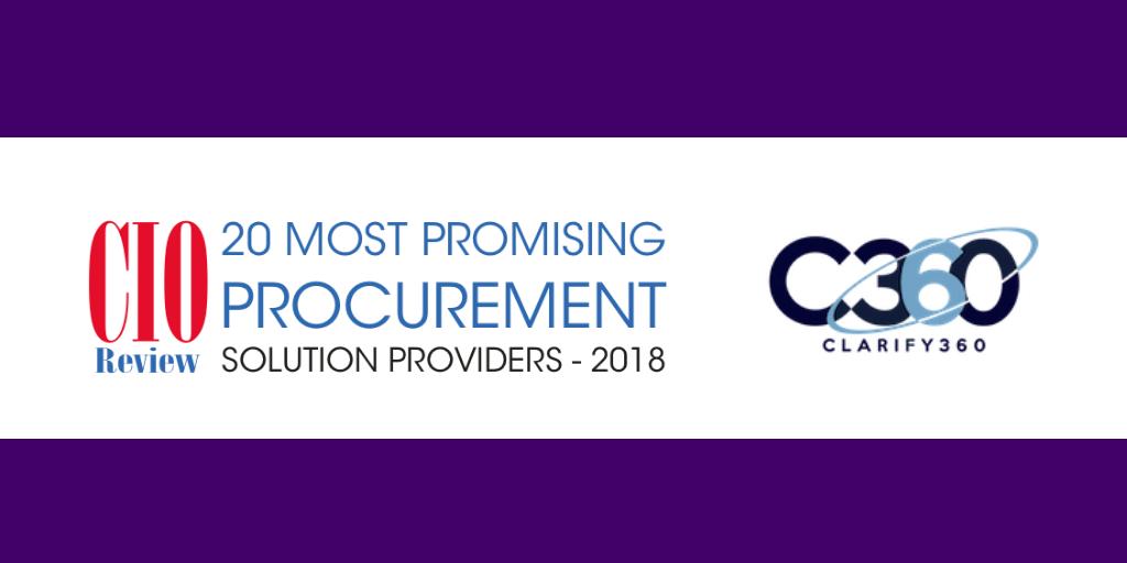 C360 CIO Review Procurement 2018