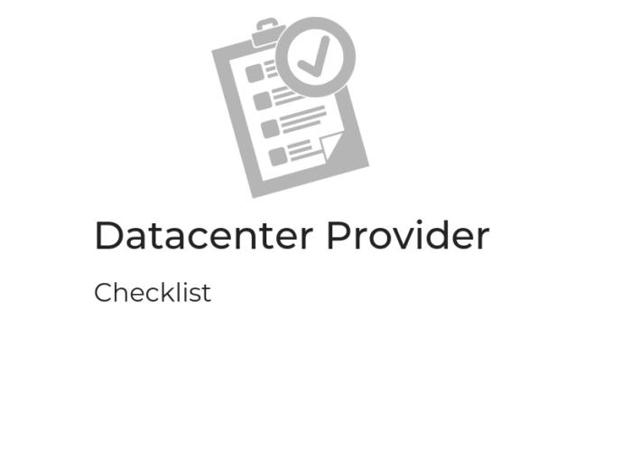 C360-DC-Provider-checklist