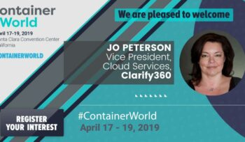 Jo Peterson Clarify360 to present at Container World 2019 Santa Clara